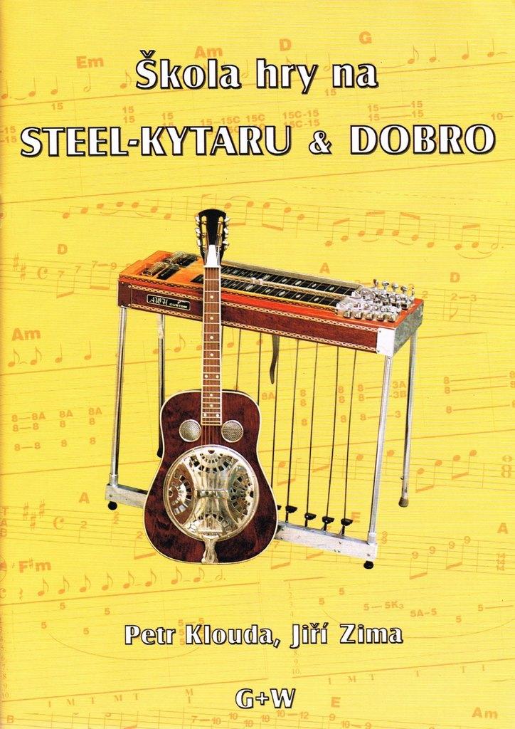 Škola hry na steel kytaru a dobro - noty