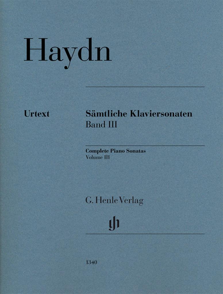 Joseph Haydn | Sonáty 3 | noty pro klavír