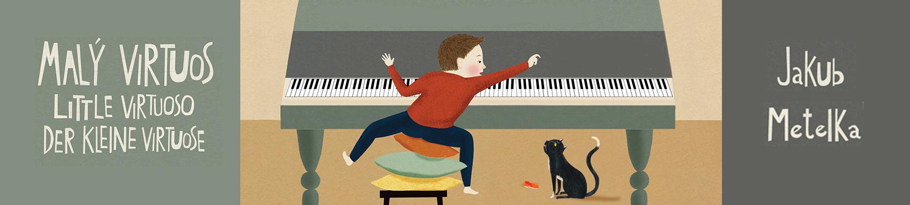 Jakub Metelka | Malý virtuos | noty pro klavír