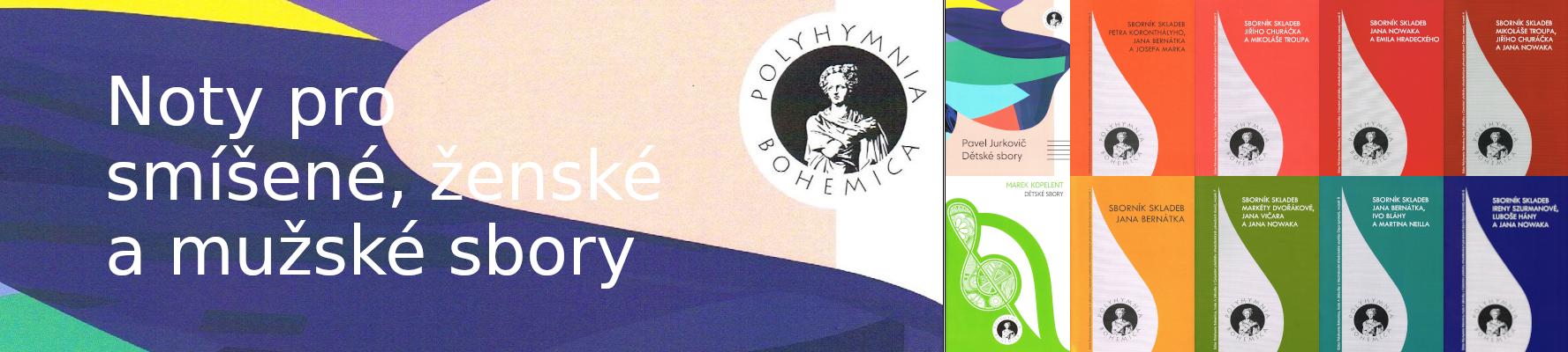 Polyhymnia Bohemica | noty pro sbory