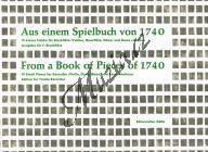Album | Aus einem Spielbuch von 1740 (pro zobcovou flétnu in F) - Provozovací partitura a party | Noty na zobcovou flétnu