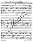 Burkhard Willy | Vier Intermezzi für Harfe op. 77a (1945) - Provozovací partitura a party | Noty na harfu