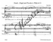 Mack Dieter | Duett | Provozovací partitura a party - Noty na pikolu