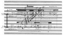 Karassikov Vadim | Lemma für zwei Alt-Saxophon (1997) - Provozovací partitura a party | Noty na saxofon