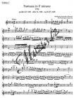 Mozart Wolfgang Amadeus | Fantasia in F minore pro smyčce podle Ein Orgelstück für eine Uhr KV 606 | Part-Housle 1 - Noty pro orchestr