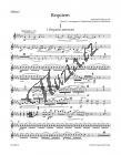 Dvořák Antonín | Requiem op. 89 - úprava pro sóla, sbor a komorní orchestr | Part-Housle 1 - Noty pro sbor