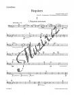 Dvořák Antonín | Requiem op. 89 - úprava pro sóla, sbor a komorní orchestr | Part-Kontrabas - Noty pro sbor