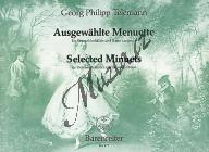 Telemann Georg Philipp | Ausgewählte Menuette TWV 34 - Provozovací partitura a party | Noty na zobcovou flétnu