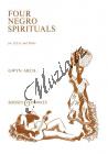 Album | Four Negro Spirituals - Partitura | Noty pro sbor