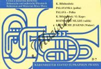 Bělohoubek Karel | Palavanka / Rozmarné mládí | Set partů a řídící hlas - Noty pro dechovou hudbu