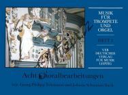 Album | Skladby pro trubku a varhany, 2. díl - 8 chorálů (Bach, Telemann) | Noty na trubku
