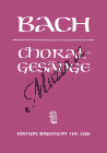 Bach Johann Sebastian | 389 Choralgesänge | Noty pro sbor