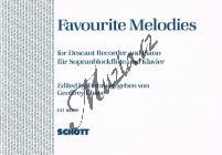 Album | Favourite Melodies | Noty na zobcovou flétnu