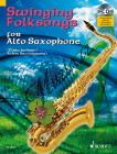 Album | Swinging Folksongs for Alto Saxophone - performance book with CD | Noty na saxofon