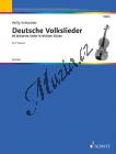 Album | Deutsche Volkslieder - Provozovací partitura | Noty na housle