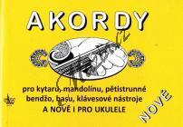 Macek Jiří | Akordy pro kytaru, mandolínu, ukulele, pětistrunné banjo, basu a klávesové nástroje | Noty na kytaru