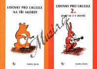 Šárek Ondřej | Lidovky pro ukulele 1,2 | Zpěvník
