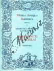 Michna Adam z Otradovic | Missa Sancti Wenceslai | Partitura - Noty pro sbor
