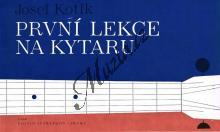 Kotík Josef | První lekce na kytaru | Noty na kytaru
