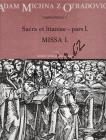 Michna Adam z Otradovic | Sacra et litaniae - pars I.: Missa 1 | Partitura - Noty pro sbor