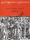 Michna Adam z Otradovic | Sacra et litaniae - pars II: Missa 2 - Partitura | Noty pro sbor