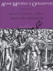Michna Adam z Otradovic | Sacra et litaniae - pars VI - Missa pro defunctis (Requiem) | Noty pro sbor