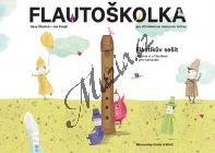 Štastná Hana, Kvapil Jan | Flautoškolka - Flautíkův sešit pro děti | Noty
