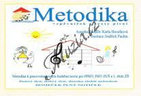 Havelková Karla | Domeček plný notiček - Metodika + zpěvníček a texty písní | Hudební teorie