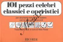 Album | 101 PEZZI CELEBRI CLASSICI E OPERISTICI | Noty na zobcovou flétnu
