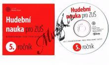 Vozar Martin   Hudební nauka pro ZUŠ, 5. ročník - CD s nahrávkami - doplněk pracovního sešitu   CD - Noty