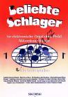 Album | Beliebte Schlager für elektronische Orgel ohne Pedal, Akkordeon oder Klavier - Heft 1 | Sborník - Noty na keyboard