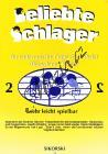 Album | Beliebte Schlager für elektronische Orgel ohne Pedal, Akkordeon oder Klavier - Heft 2 | Sborník - Noty na keyboard