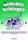 Album | Beliebte Schlager für elektronische Orgel ohne Pedal, Akkordeon oder Klavier - Heft 4 | Sborník - Noty na keyboard