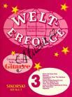 Album | Welterfolge - Heft 3, für Gesang, Rhythmus-, Solo- und Bassgitarre | Spielpartitur - Noty pro sólový zpěv
