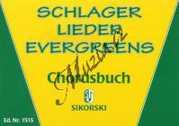 Album | Schlager - Lieder - Evergreens - Chorusbuch | Sborník - Noty na melodické nástroje