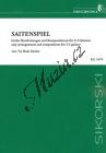 Album | Saitenspiel - Leichte Bearbeitungen und Kompositionen für 2 bis 3 Gitarren | Spielpartitur - Noty na kytaru
