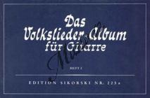 Album | Das Volksliederalbum für Gitarre - Heft 1 | Zpěvník, sborník - Noty pro sólový zpěv
