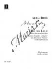 Berg Alban   Lied der Lulu   Klavírní výtah - Noty pro sólový zpěv