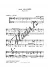 Kodály Zoltán | Das Häschen (The Leveret) | Sborová partitura - Noty pro sbor