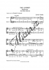 Kodály Zoltán | The Leveret ( Das Häschen) | Sborová partitura - Noty pro sbor