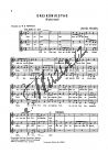 Kodály Zoltán | Dreikönigstag | Sborová partitura - Noty pro sbor
