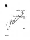 Birtwistle Sir Harrison | Refrains and Choruses | Set partů - Noty pro dechový kvintet