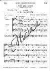 Bennett Richard Rodney | 2 Wiegenlieder | Sborová partitura - Noty pro sbor