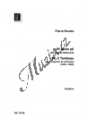 Boulez Pierre   Tombeau no. 5 aus