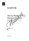 Bartók Béla | Herzog Blaubarts Burg Oper, Op. 11 | Studijní partitura - Noty