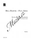 Bartók Béla | Suite paysanne hongroise | Partitura - Noty pro orchestr