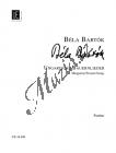 Bartók Béla | Ungarische Bauernlieder | Partitura - Noty pro orchestr