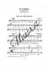 Schmid Reinhold   50 Kanons Kanonsammlung   Klavírní výtah - Noty pro sólový zpěv