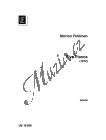 Feldman Morton | 5 Pianos | Provozovací partitura - Noty na klavír
