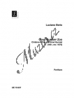 Berio Luciano | Opus Number Zoo | Partitura - Noty pro dechový kvintet